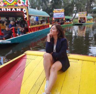 Mi primera vez en Xochimilco, Lorena Velandia